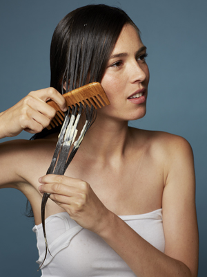 protect brittle hair from breakage